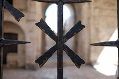 Gate. A gate in Bari, Italy Royalty Free Stock Photos
