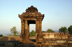 Gate of Barong Temple Stock Image