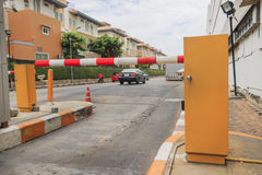 Gate Barrier Stock Photography