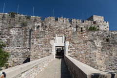 Gate of Bodrum Castle Royalty Free Stock Image