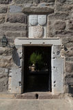 Gate of Bodrum Castle Royalty Free Stock Photo