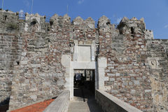 Gate of Bodrum Castle Royalty Free Stock Images