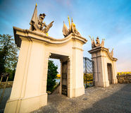 Gate at Bratislava Castle Royalty Free Stock Image