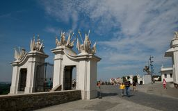 Gate of Bratislava Castle Royalty Free Stock Photography