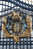 Gate of Buckingham Palace Stock Photos