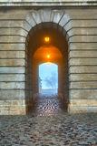 Gate in Buda Castle, Budapest Stock Photography