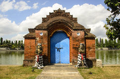 Gate, Buddhist temple, Indonesia Royalty Free Stock Photography