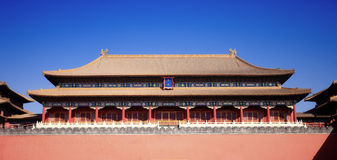 Gate building of forbidden city,beijing Stock Photos