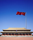 Gate building of forbidden city,beijing Royalty Free Stock Photos
