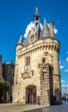Gate Cailhau - Porte Cailhau in Bordeaux - France Stock Images