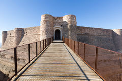 Gate of castle. Chinchilla Stock Images