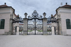 The gate of Castle Royalty Free Stock Photo