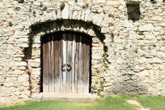 Gate on Castle Rabi Royalty Free Stock Photo