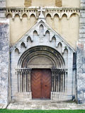 Gate of Cathedral in Spisska Kapitula Royalty Free Stock Images