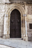 Gate. cathedral of Toledo, imperial city Royalty Free Stock Photos