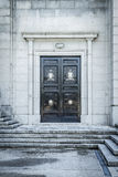 Gate.Cerro de los Angeles is located in the municipality of Geta Royalty Free Stock Photos