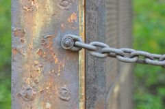 Gate Chain Royalty Free Stock Photography