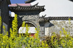 Gate. The gate of china countryside famer Royalty Free Stock Photography