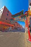 Gate in Chinatown in Philadelphia Royalty Free Stock Images