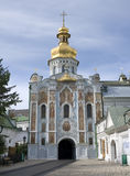 Gate Church in Kyiv Pechersk Lavra Stock Image