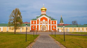 The Gate Church of the Monastery Royalty Free Stock Images