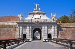 Gate at citadel Stock Photo