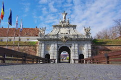 Gate of citadel Royalty Free Stock Photography