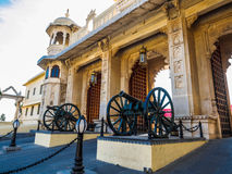 Gate of City Palace in Udaipur Stock Photo