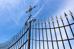 Gate with cross Royalty Free Stock Photo