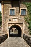 The gate of Czocha Castle Stock Photos