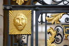 Gate decoration. Oxford, England Royalty Free Stock Photography