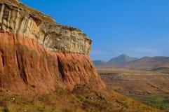 gate den guld- höglandnationalparken Arkivbild