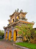 Gate in Dien Tho Residence. A gate in the Dien Tho Residence  in the Imperial City, Hue, Vietnam Royalty Free Stock Photography