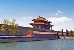 The Gate of Divine Might. The northern gate of Forbidden City.Beijing, China Stock Photo