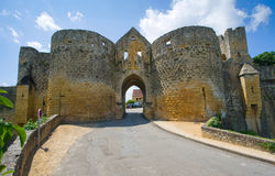 Gate of Domme Royalty Free Stock Photos