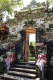 Gate Door in Ubud palace, Bali, Indonesia Stock Image