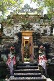 Gate Door in Ubud palace, Bali Stock Photography