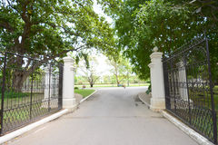Gate and Drive way Stock Photography