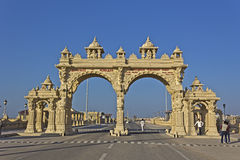 Gate in Dwarka Stock Images