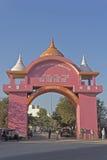 Gate of Dwarka Royalty Free Stock Photos