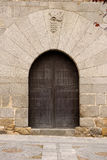 Gate emblazoned, Palace of Davila, Avila, Spain. Royalty Free Stock Photography