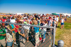 Gate Entry at Creation NW 2006 Royalty Free Stock Photos