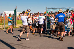 Gate Entry at Creation NW 2006 Stock Photography