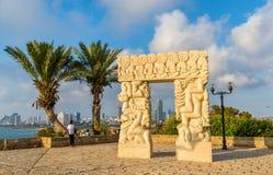 The Gate of Faith in Abrasha Park - Jaffa, Tel Aviv Stock Photos