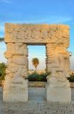Gate of faith in Jaffa Stock Photo