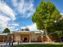 The Gate of Felicity in the Second Courtyard of Topkapi Palace, Royalty Free Stock Photo
