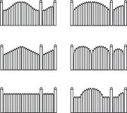 gate, Fences and gates Stock Photography