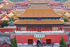 Gate of Forbidden City Royalty Free Stock Photo