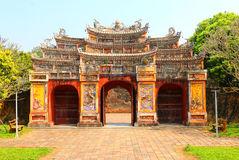 Gate of the Forbidden City at Hue,Vietnam Stock Photography