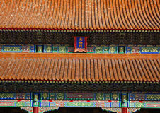 Gate Forbidden City Palace Beijing Royalty Free Stock Photos